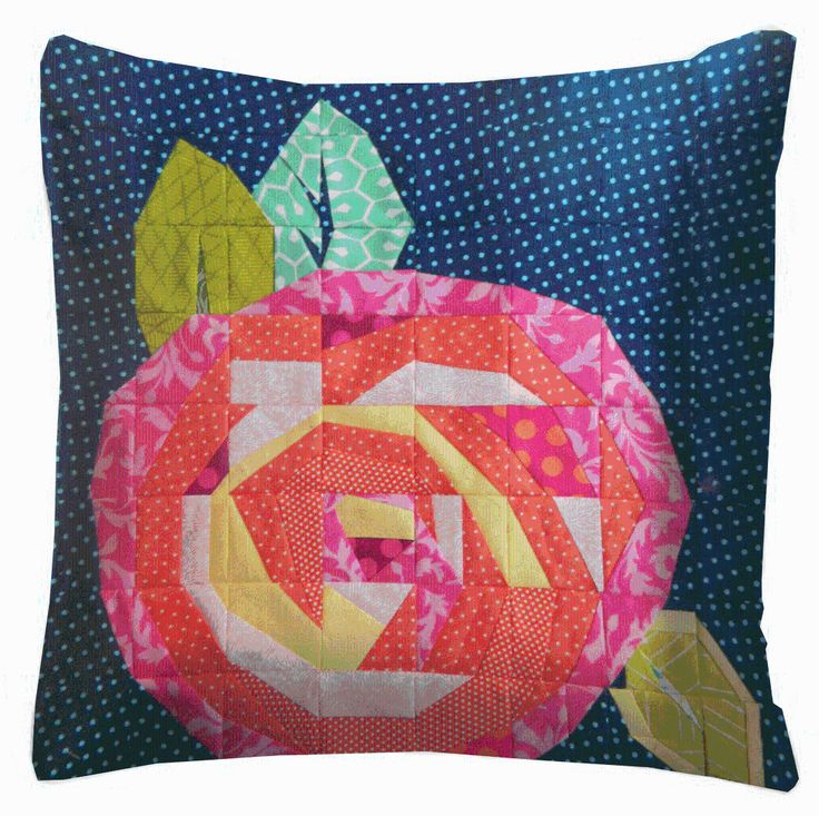Coming Up Roses pillow via Craftsy Member Art of Being Me