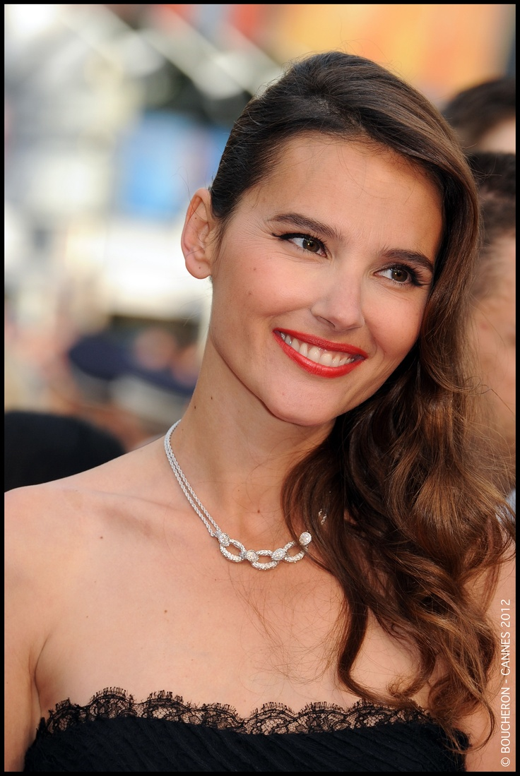 Virginie Ledoyen with the Serpent necklace @ 65th Cannes Film Festival.