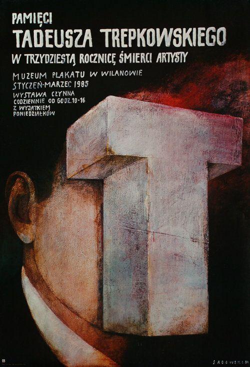 Tadeusz Trepkowski  In Memorry of Tadeusz Trepkowski, Polish Poster