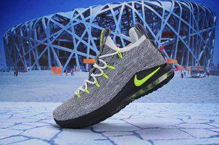 79e493020b2 Nike LeBron 15 Low Neon AO1756 201 Men s Basketball Shoes James Shoes