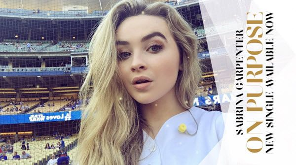Sabrina Carpenter sang the National Anthem at the Los Angeles Dodgers game on Friday (July 29, 2016) and some of her Girl Meets…
