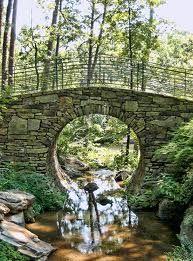 Garvan Gardens Moon Rock Bridge, Hot Springs, Arkansas