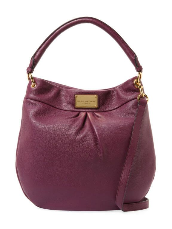 Marc Jacobs Classic Hobo Bag Aubergine at GILT