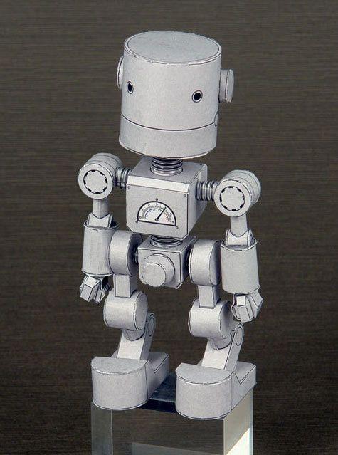 Chibi Robo Paper Toy