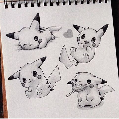 Cute Pikachu By @tajijoseph _ @arts__gallery                                                                                                                                                                                 More