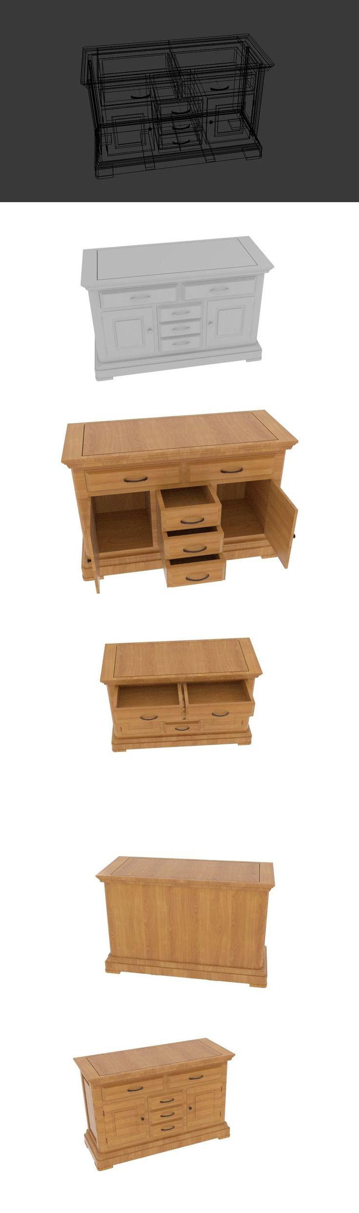 Canterbury Solid Oak Large Sideboard