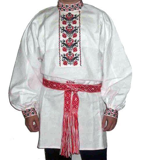 народная русская рубаха мужская