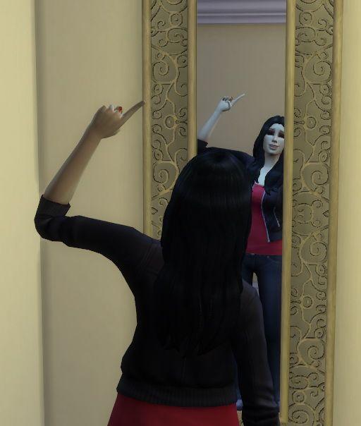 Big wall mirror conversion from Parsimonious by Hinayuna at SimsWorkshop • Sims 4 Updates