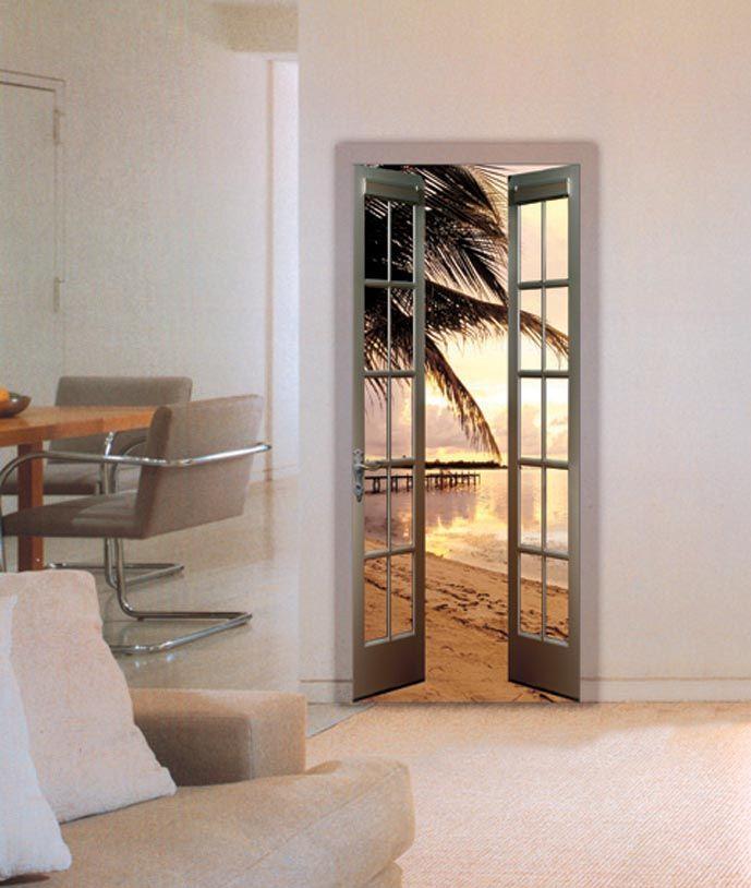 fototapete f r t ren motiv dominicana beach ihr online. Black Bedroom Furniture Sets. Home Design Ideas