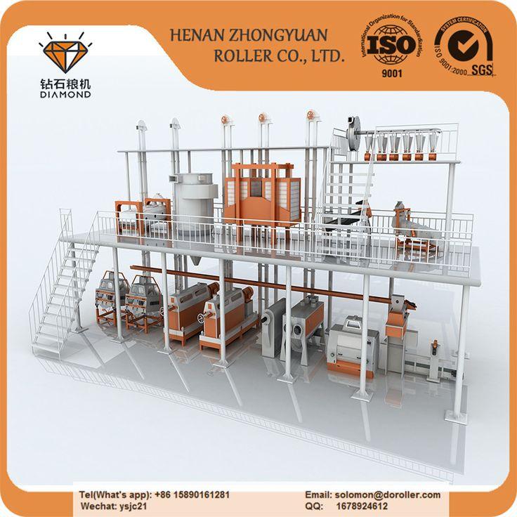 high quality of 100 tons per 24h maize flour mill machine from Henan Zhongyuan Roller  Machinery. #flourmillmachine #maizeflourmillsmachine #maizemillingmachine #flourmillingmachinery #ZhongyuanRollerMachinery