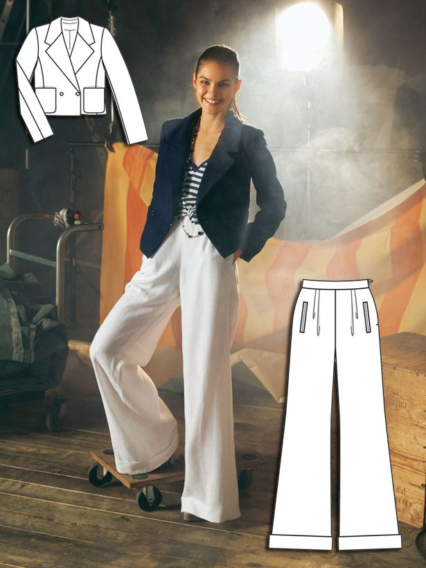 In The Navy: 10 New Sewing Patterns – Sewing Blog | BurdaStyle.com