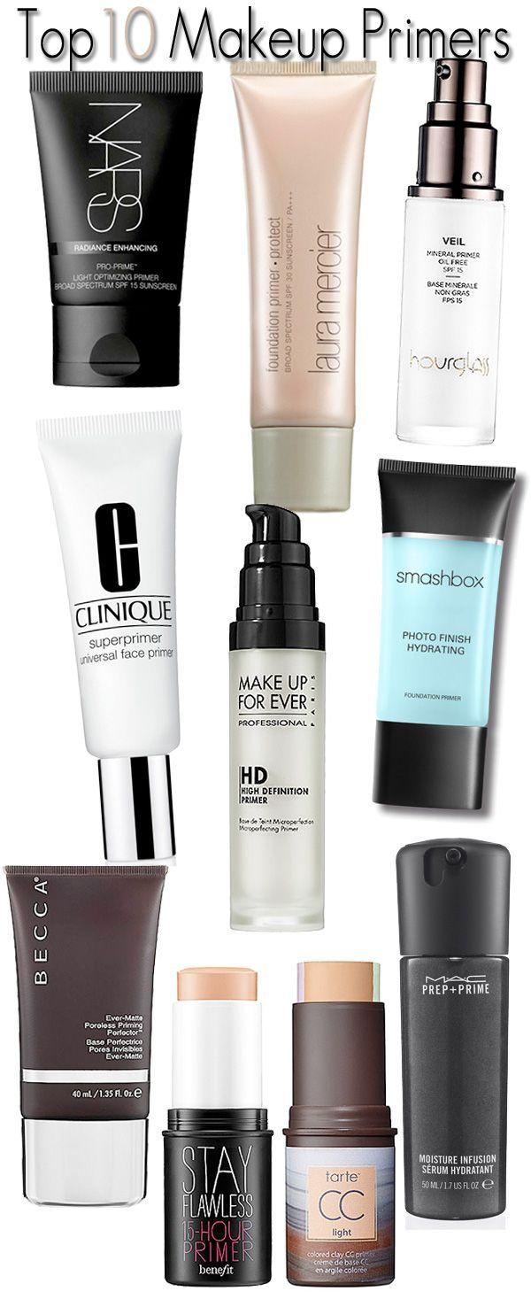 Top 10 Makeup Primers. - Home - Beautiful Makeup Search: Beauty Blog, Makeup & Skin Care Reviews, Beauty Tips | Beauty/Make-Up | Best makeup primer, ...