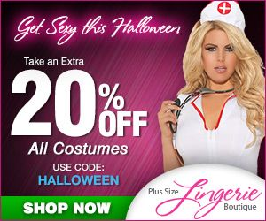 Got Your Halloween Costume yet? No, head over to CDF for special deals on Costumes from Plus Size Lingerie Boutique!!