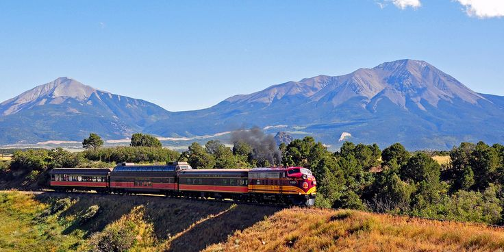 These 6 Scenic Train Rides In Colorado Are Out Of This World!   The Denver City Page