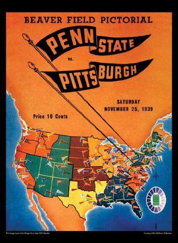 Penn State Nittany Lions 2013 Vintage Football Calendar