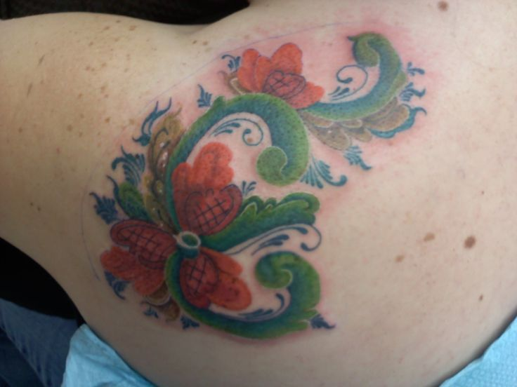 61 best tattoos rosemaling images on pinterest tatoos tattoo ideas and embroidery. Black Bedroom Furniture Sets. Home Design Ideas