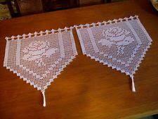 Bildergebnis für häkelmuster bistro gardinen liane