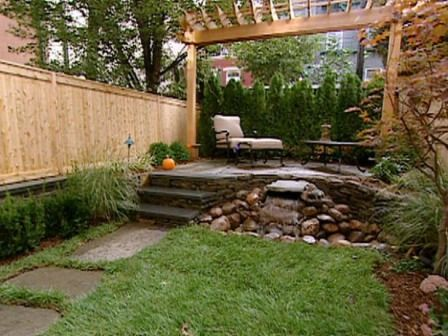 M s de 25 ideas incre bles sobre paisajismo de patio - Patio pequeno ideas ...