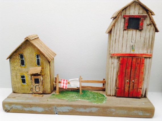 231  Hand crafted wooden farm with barn  by Greytimberwolfcrafts