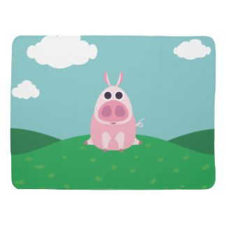 Leary the Pig Swaddle Blanket
