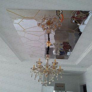 Акриловые 3d гостиная столовая спальня диван Телевизор настенное зеркало кристалла алмаза мерных наклейки декоративные зеркала-tmall.com ден ...