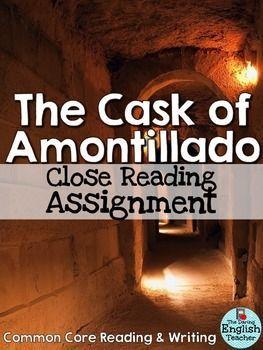 mood in the cask of amontillado english literature essay The cask of amontillado by edgar allen poe  gcse english literature  theme analysis of the cask of amontillado essay.