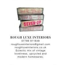 Rough Luxe Interiors | Vintage Loveliness | Upcycled | Modern Homewares | Warehouse Home #ClippedOnIssuu from Warehouse home Issue Two
