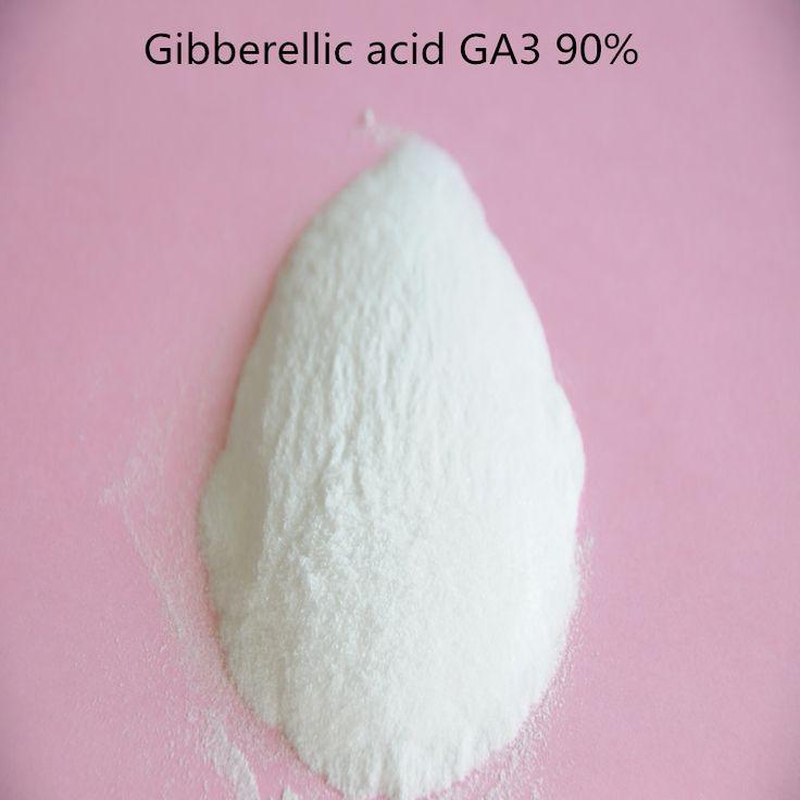 100 gram Gibberellin /Gibberellic acid /GA3/ Gibberellin 98% TC/ GA3 Plant growth regulator High quality with low price