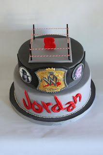 Die besten 25 Wwe birthday cakes Ideen auf Pinterest Wrestling