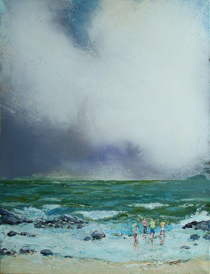 Tuomo Saali, The Rising Tide, oil on canvas 2016