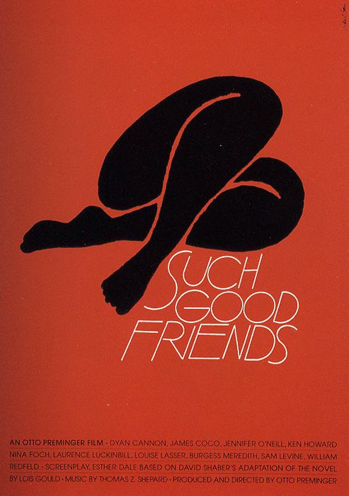 The Late Great Saul Bass. Graphic Designer and Film Maker. Knew the meaning of less is more