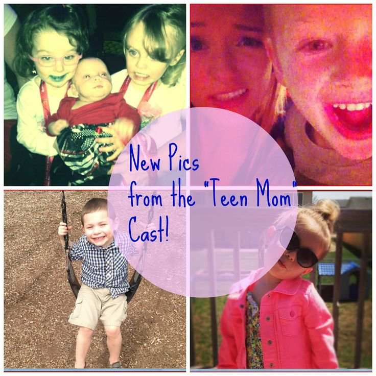 TOO Cute! New Kid Pics From the Teen Mom Cast! (Photos)