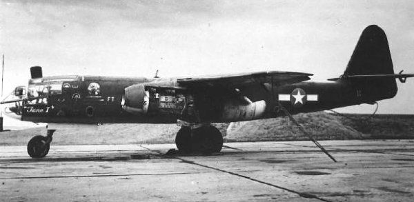 Ar 234 B with US markings.