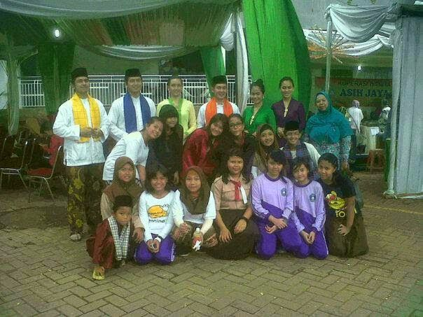 Topeng Blantek 267: SMPN 267 Jakarta Selatan
