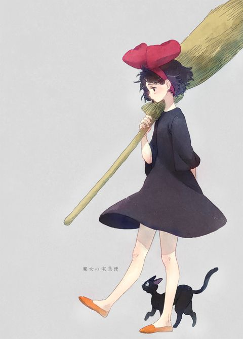 Kiki's Delivery Service / Majo no Takkyuubin (魔女の宅急便) -「魔女の宅急便」/「ふとん」のイラスト [pixiv]
