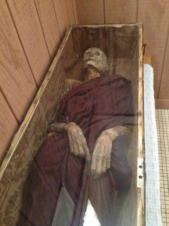 Barbour County Historical Museum-Philippi  -- Ahh, memories of 8th grade history, hearing all about this mummy!