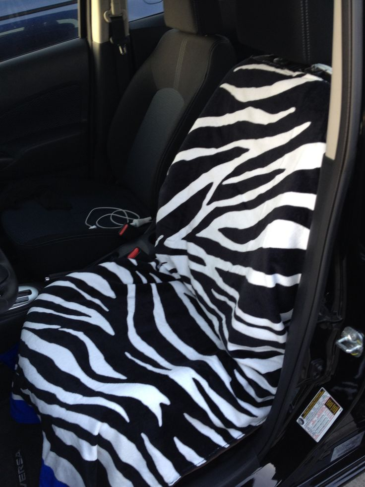 My New Beach Towel Car Seat Cover Car Accessories Diy