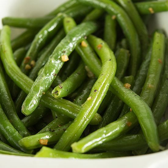These Butter and Garlic Green Beans are perfectly cooked and tossed with butter and toasted garlic. They're quick, easy, and delicious.