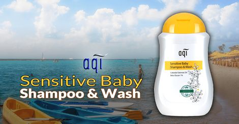 AQI Sensitive Baby Shampoo and Body Wash~ Tear free and soap free, safe and gentle enough for daily use on newborns and babies with sensitive skin. #naturalskincare  #skincareproducts #Australianskincare #AqiskinCare  #australianmade