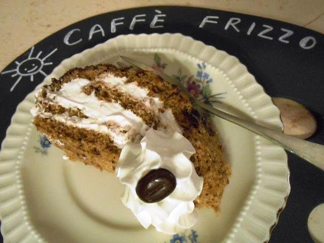 Házi jégkrém-torta. Olasz kávézó, Biatorbágy.