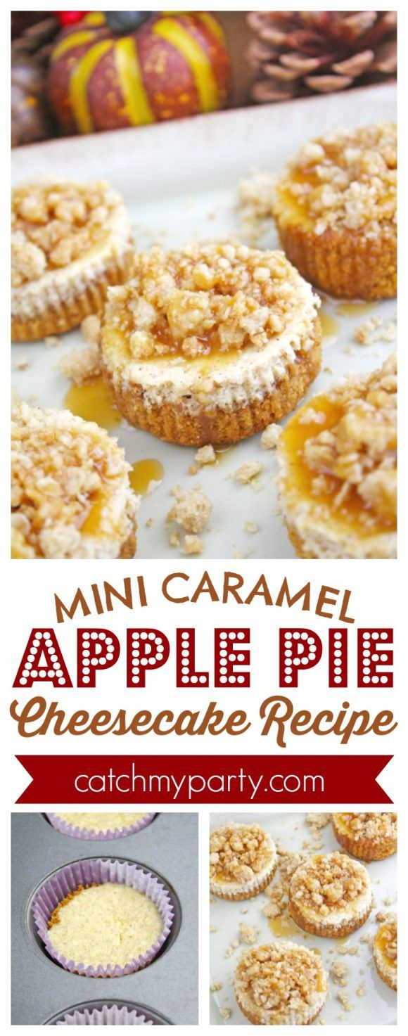 786 best christmas desserts and treats images on pinterest mini caramel apple pie cheesecake recipe catchmyparty applepie thanksgivingdessert forumfinder Gallery