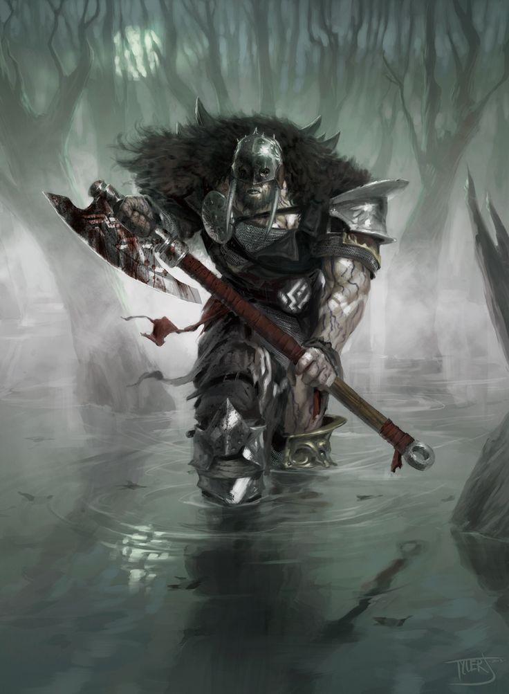 Garruk, Apex Predator - MtG Art
