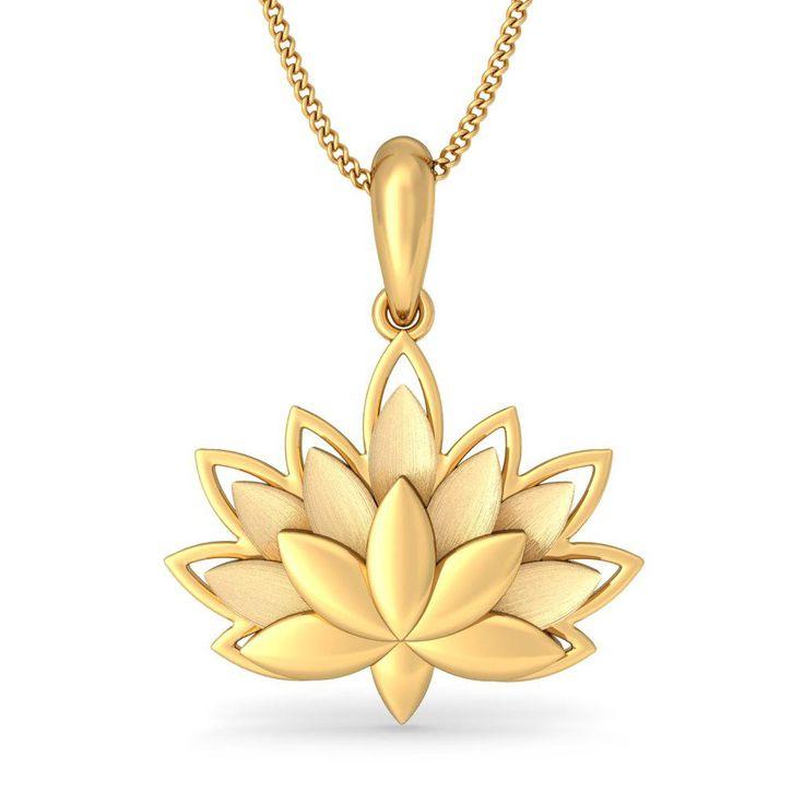 #bluestone #jewelry #floral #padmalakshmi #pendant #gold #flower #delight