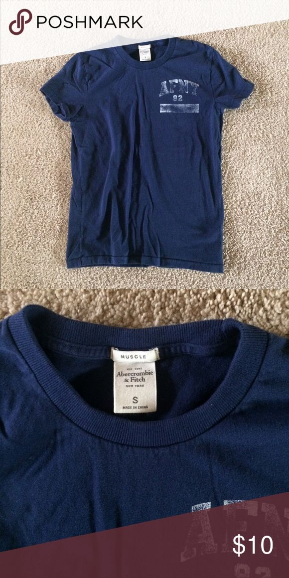 Mens Abercrombie and Fitch Tshirt Mens Abercrombie and Fitch Cotten Tshirt Abercrombie & Fitch Tops Tees - Short Sleeve