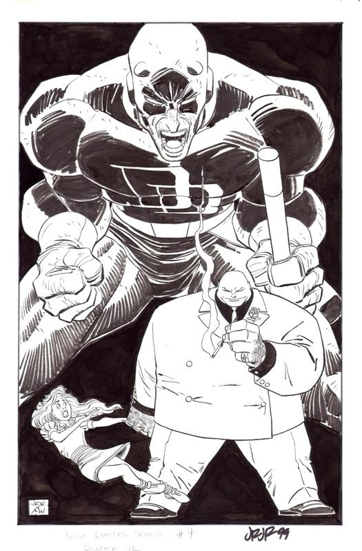 Daredevil and Kingpin by John Romita, Jr. (Marvel)
