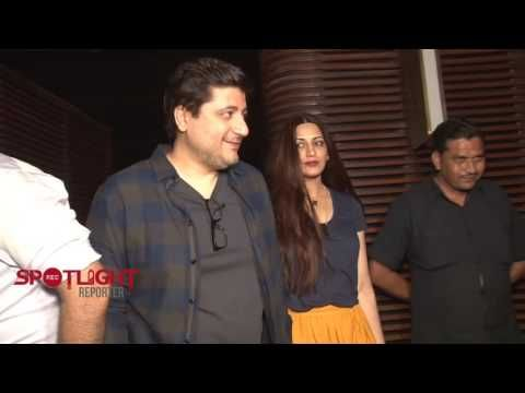 Sonali Bendre And Goldie Behl At Karishma Tanna Birthday Party