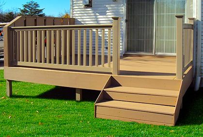 Best 25 small deck designs ideas on pinterest small Small deck ideas