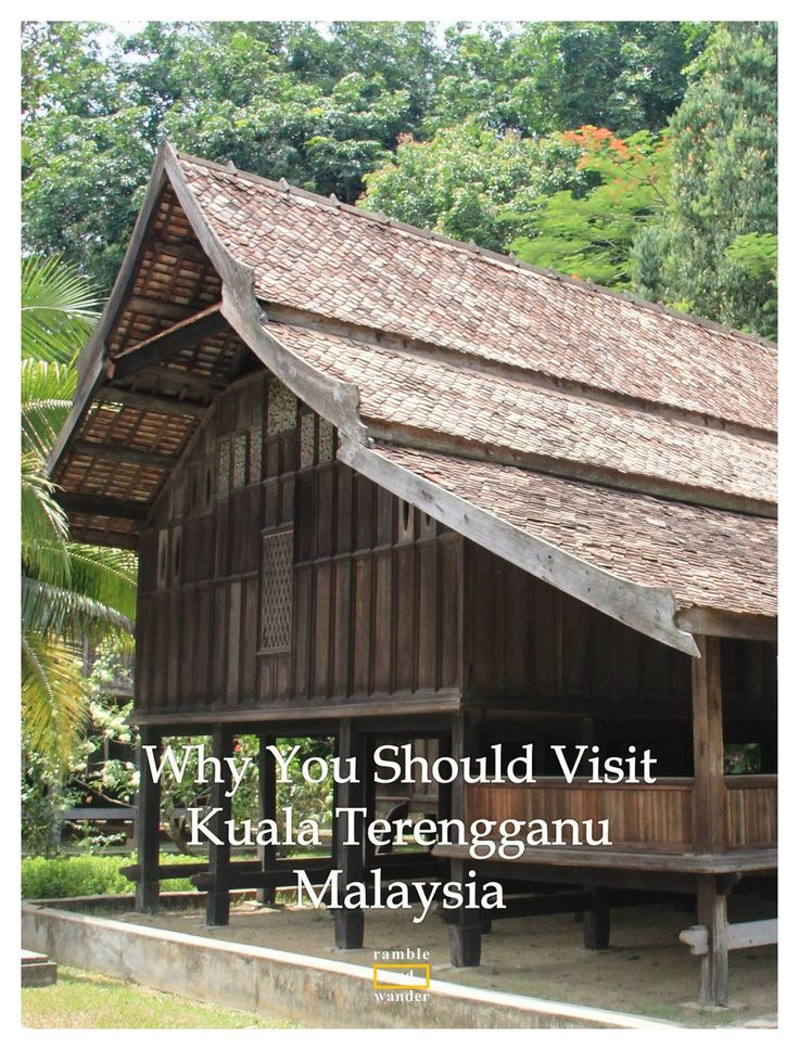 If you're heading to one of the many beautiful islands off the coast of Terengganu in Malaysia, do not skip Kuala Terengganu, the state capital. Here are some of the reasons why | www.rambleandwander.com