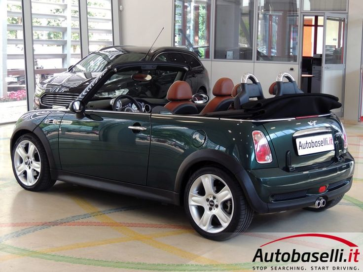 MINI COOPER S CABRIO 1.6 16V SIDEWALK Interni in pelle English Malt Brown + Cruise control + Capote elett + Sensori di parcheggio +…