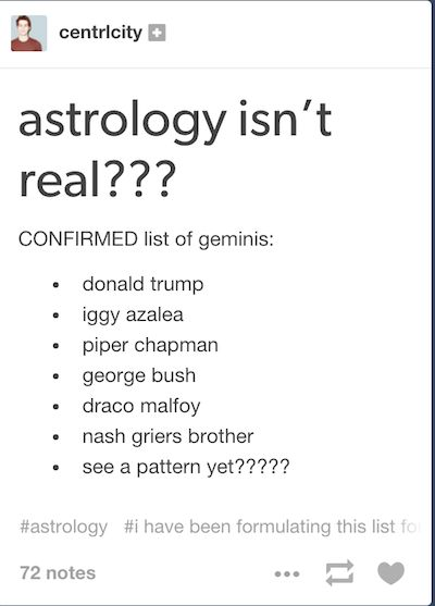 astrology why is so popular The diagram was intended to explain how the astrological formations (or star  signs) rule over each part of the body the man's pointing finger serves as a.